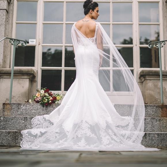 Moonlight Bridal Dresses Style J6478 Cape Veil Poshmark